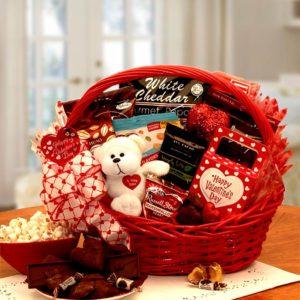 Sugar free valentine gift basket